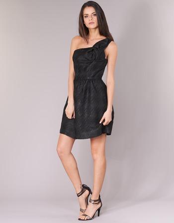 Noir Naf Courtes Femme Eclair Vêtements Robes 9IWHE2eYD