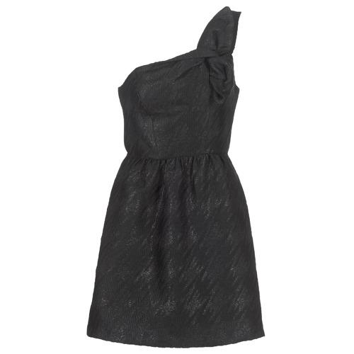 Vêtements Femme Robes courtes Naf Naf ECLAIR Noir