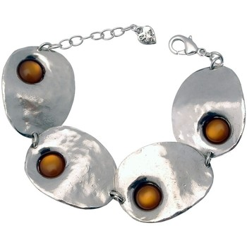 Montres & Bijoux Femme Bracelets Lili La Pie Bracelet multi motifs grands collection AMULETTE Orange