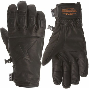 Gants Celtek gants cuir aviator premium leather gloves black