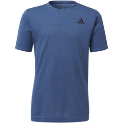 Vêtements Garçon T-shirts manches courtes adidas Performance T-shirt Training Knit blue