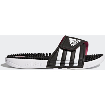 Chaussures Femme Tongs adidas Performance Sandale adissage Noir / Blanc / Rose