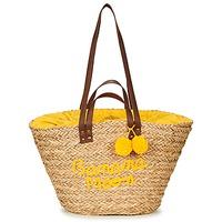 Sacs Femme Cabas / Sacs shopping Banana Moon LACELY WOODRAW Naturel / Jaune