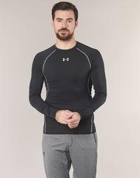 Vêtements Homme T-shirts manches longues Under Armour LS COMPRESSION Noir