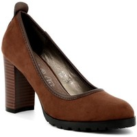 Chaussures Femme Escarpins Playa Collection Escarpins LIVA Cognac