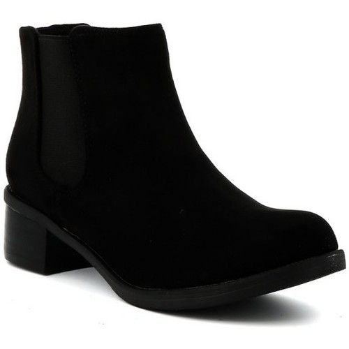 Chaussures Femme Boots Playa Collection Bottine chelsea MASSIMO Noir