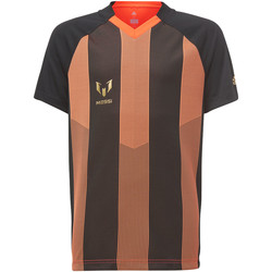 Vêtements Garçon T-shirts manches courtes adidas Performance Maillot Messi Icon Noir / Orange