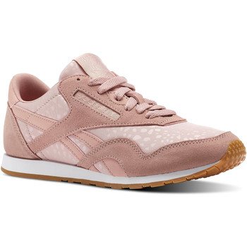 Chaussures Femme Baskets basses Reebok Classic Classic Nylon Slim Text Lux Blanc / Marron