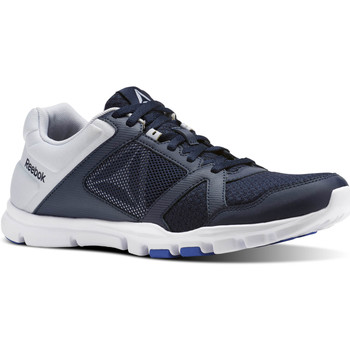 Chaussures Homme Baskets basses Reebok Sport Yourflex Train 10 MT Bleu / Blanc
