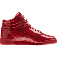 Chaussures Fille Baskets montantes Reebok Classic Freestyle Hi Patent Leather Rouge