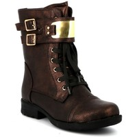 Chaussures Femme Boots Playa Collection Bottine ranger XARINE Bronze