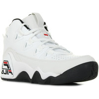 Chaussures Baskets montantes Fila 95 White/ Black blanc