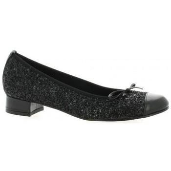 Chaussures Femme Ballerines / babies Elizabeth Stuart Ballerines cuir pailleté Noir