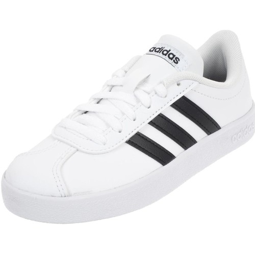 Chaussures Garçon Baskets basses adidas Originals Vl court 2.0 k junior Blanc