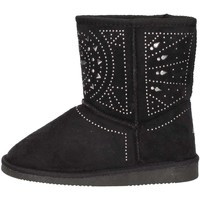 Chaussures Fille Low boots Asso 6000 NOIR