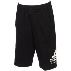 Vêtements Garçon Shorts / Bermudas adidas Originals Sid black/wht short jr Noir