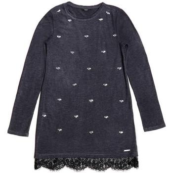 Vêtements Fille Robes courtes Guess Fille Maxi T-Shirt Gris Anthracite Gris