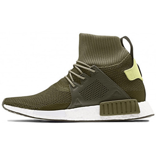 Chaussures Homme Baskets montantes adidas Originals NMD XR1 Winter - Ref. CQ3074 Vert