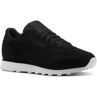 Chaussures Femme Baskets basses Reebok Classic Classic Leather Woven EMB Noir / Blanc