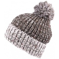Accessoires textile Homme Bonnets Nyls Création Bonnet pompon gris chiné Trek Gris