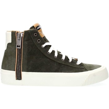 Chaussures Homme Baskets montantes Diesel Y01539 PR086 S-VOYAGE SNEAKERS Homme OLIVE NIGHT OLIVE NIGHT