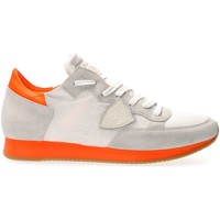 Chaussures Homme Baskets basses Philippe Model Paris TRLU NS02 TROPEZ SNEAKERS Homme WHITE WHITE