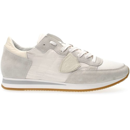 Chaussures Homme Baskets basses Philippe Model Paris TRLU W018 TROPEZ SNEAKERS Homme WHITE WHITE