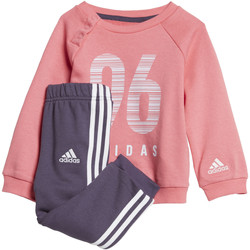 Vêtements Fille Ensembles de survêtement adidas Performance Ensemble sportswear Crew Terry Blanc