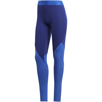 Vêtements Femme Leggings adidas Performance Tight Climacool Logo Bleu