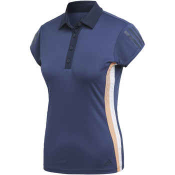 Vêtements Femme Polos manches courtes adidas Performance Polo 3-Stripes Club blue