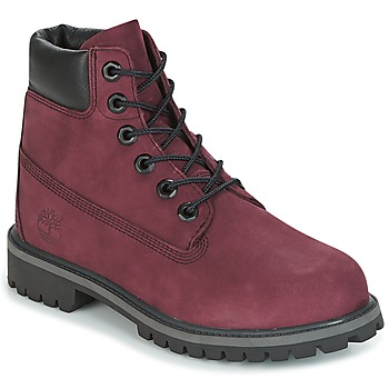 Chaussures Enfant Boots Timberland 6 IN PREMIUM WP BOOT Rose