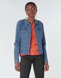 Vêtements Femme Vestes en jean Vero Moda VMHOT SOYA Bleu medium