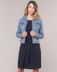 Vêtements Femme Vestes en jean Vero Moda VMHOT SOYA Bleu clair