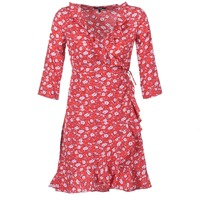 Vêtements Femme Robes courtes Vero Moda VMMOLLY Rouge
