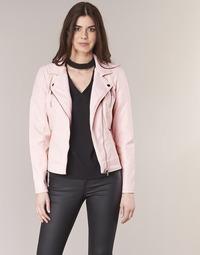 Vêtements Femme Vestes en cuir / synthétiques Only STEADY Rose
