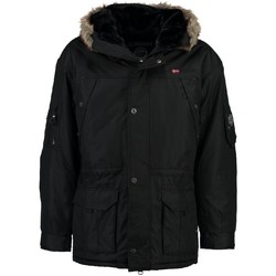 Vêtements Homme Parkas Geographical Norway Parka Homme Anaconda Noir