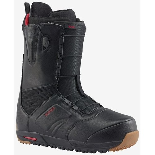 Burton BOOTS  ION BLACK/RED 2018 Unicolor - Chaussures Ski