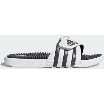 Chaussures Homme Tongs adidas Performance Sandale adissage Blanc / Gris / Blanc