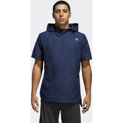 Vêtements Homme Vestes de survêtement adidas Performance Sweat-shirt à capuche Electric Shooter Bleu Foncé