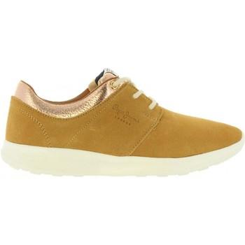 Chaussures Femme Baskets basses Pepe jeans PLS30602 AMANDA Beige