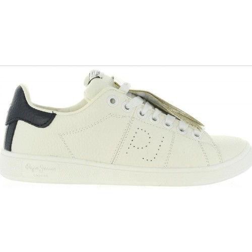 Chaussures Femme Baskets basses Pepe jeans PLS30581 BROMPTON Blanco
