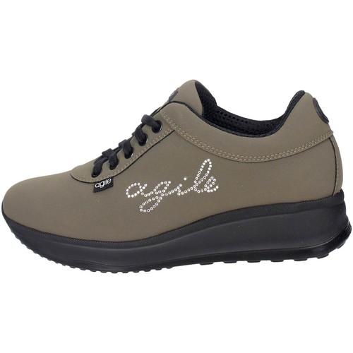Chaussures Femme Baskets basses Agile By Ruco Line Agile By Rucoline  1315(17_) Petite Sneakers Femme Vert foncé Vert foncé