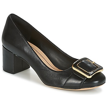 Chaussures Femme Escarpins Clarks ORABELLA FAME Black Leather