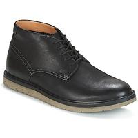 Chaussures Homme Boots Clarks BONNINGTON TOP  Black Leather
