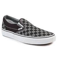 Chaussures Slips on Vans CLASSIC SLIP-ON Noir / Gris