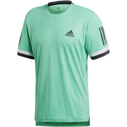 Vêtements Homme T-shirts manches courtes adidas Performance T-shirt 3-Stripes Club green