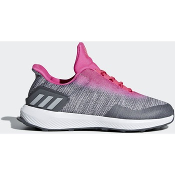 Chaussures Fille Baskets basses adidas Performance Chaussure RapidaRun Uncaged Rose