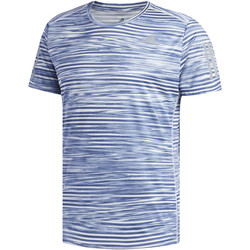 Vêtements Homme T-shirts manches courtes adidas Performance T-shirt Response Printed blue