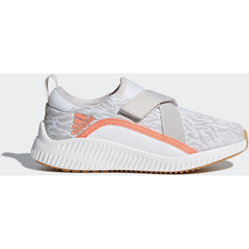 Chaussures Fille Baskets basses adidas Performance Chaussure FortaRun X Gris / Blanc