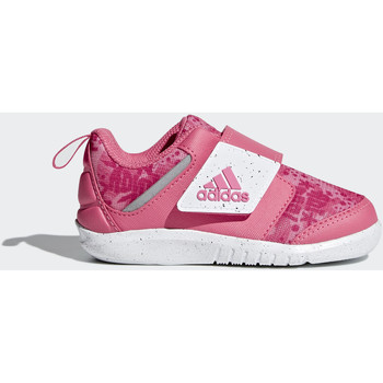 Chaussures Fille Baskets basses adidas Performance Chaussure Fortaplay pink
